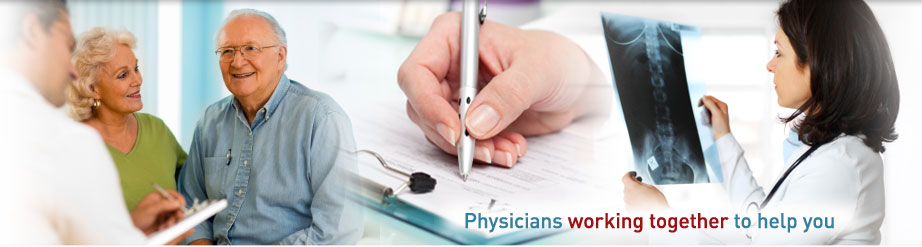 Physicians working together to help you
